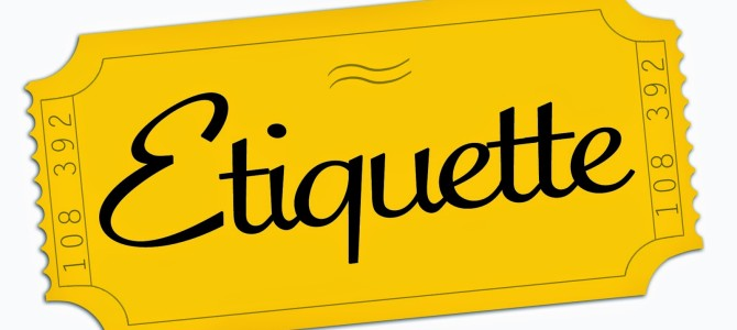 Should Etiquette Be Taught in Schools?